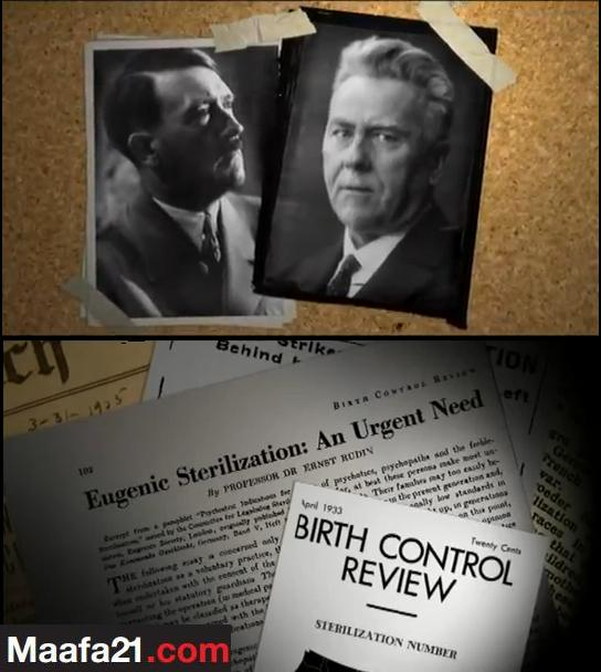 Ernst Rudin a Nazi published by Margaret Sanger's Birth Control Review