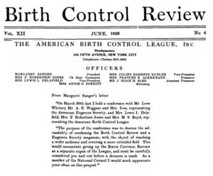 Planned Parenthood founder Margaret Sanger wanted to merge Eugenics Society with publication ABCL watch Maafa21