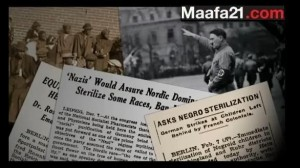 Negro sterilization of blacks in Nazi Germany detailed in Maafa21