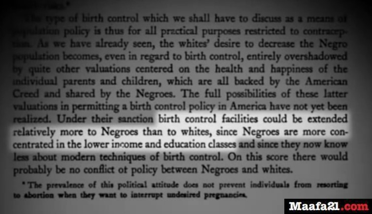An American Dilemma Quote Birth Control in Black neighborhoods