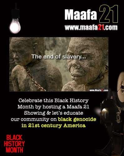 blackhistoryMonthEndof Slavery