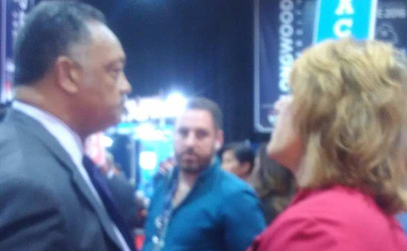 Terry Beatley confronts Jesse Jackson on his silence over the on-going black genocide
