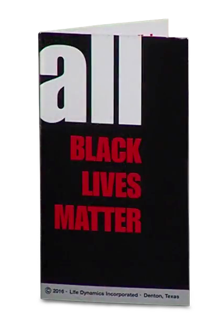 The All Black Lives Matter Card - Produced By Life Dynamics Inc